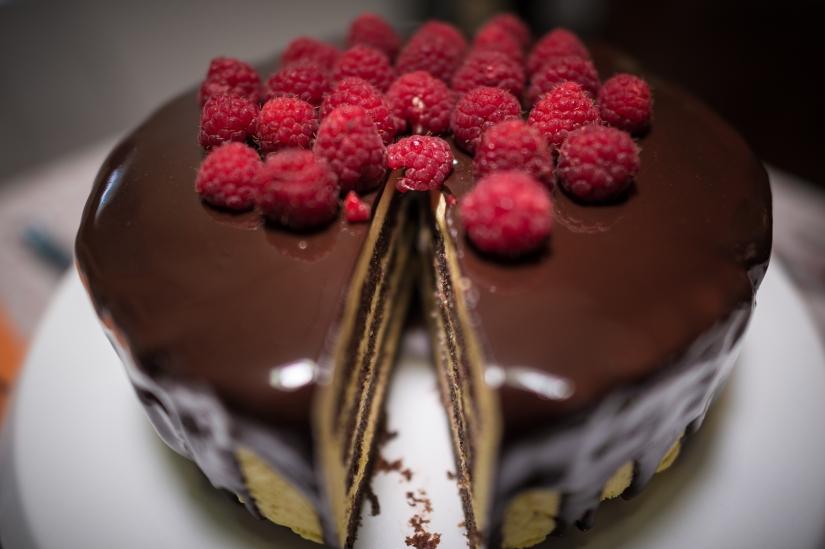 Bavarese al cioccolatobianco