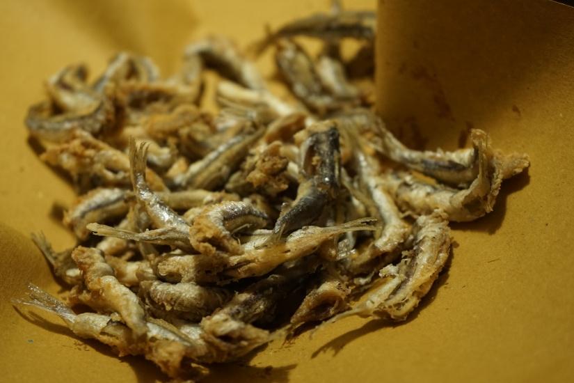 Sardoncini fritti